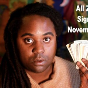 ALL ZODIAC SIGNS: NOVEMBER 2020 PSYCHIC READING [LAMARR TOWNSEND TAROT]