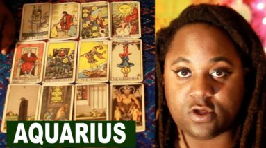 AQUARIUS: OCTOBER, NOVEMBER, DECEMBER 2020 PSYCHIC TAROT READING [LAMARR TOWNSEND TAROT]