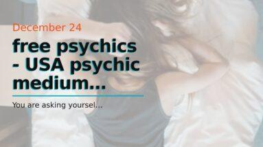free psychics - USA psychic medium online