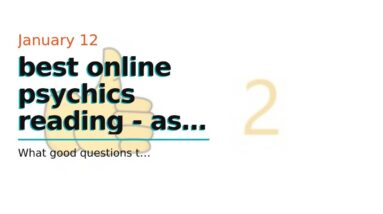 best online psychics reading - ask a clairvoyant medium