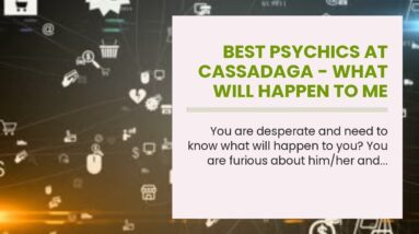 best psychics at cassadaga - what will happen to me