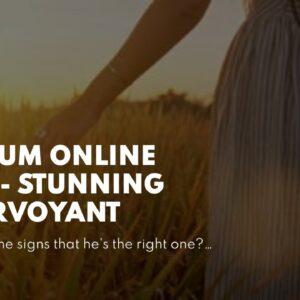 medium online free - stunning clairvoyant
