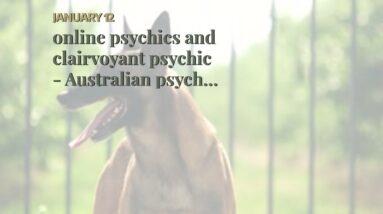online psychics and clairvoyant psychic - Australian psychic medium