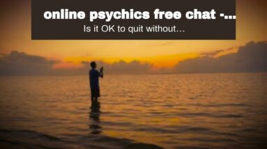 online psychics free chat - shocking clairvoyant online