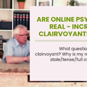 are online psychics real - incredible clairvoyants near me