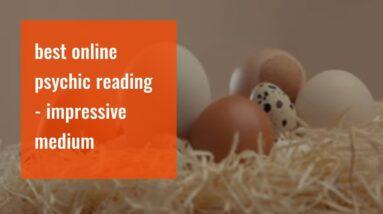 best online psychic reading - impressive medium