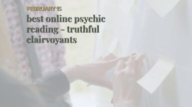 best online psychic reading - truthful clairvoyants