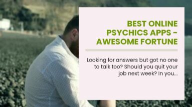 best online psychics apps - awesome fortune teller online