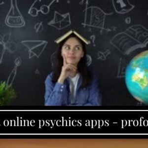best online psychics apps - profound clairvoyant connection