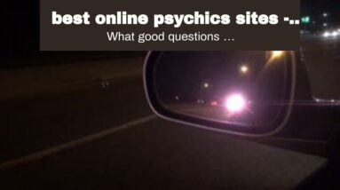 best online psychics sites - most shocking clairvoyant answers