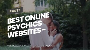 best online psychics websites - talk to a clairvoyant medium for free
