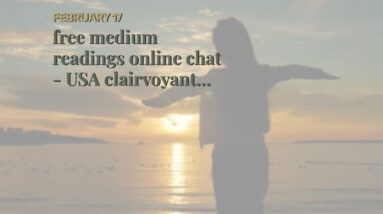 free medium readings online chat - USA clairvoyant online