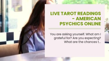 live tarot readings - American psychics online