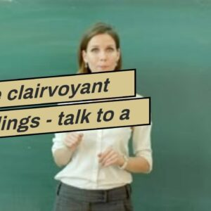 online clairvoyant readings - talk to a clairvoyant medium for free