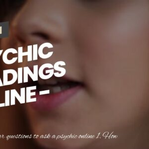psychic readings online - unique clairvoyant mediums