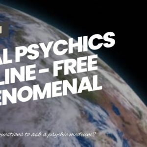 Real Psychics Online - free phenomenal clairvoyant chat