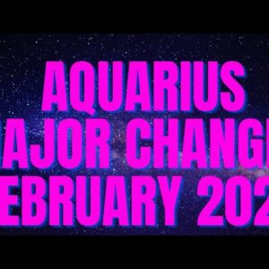 AQUARIUS😱🌌 YOU GOTTA SEE THIS SPREAD! FEBRUARY 2021 TAROT ❤️💕