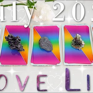 Your LOVE LIFE Prediction in July 2021 (PICK A CARD)