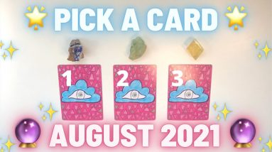 🐳🔮AUGUST 2021🔮🐳 Messages & Predictions✨ Pick a Card