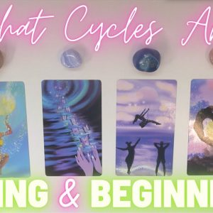 ☀️What Cycles Are ENDING & BEGINNING In Your Life?🌙 Pick-a-Card 🌱💕