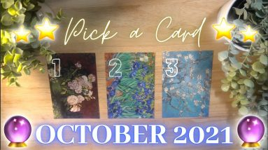 🎃🔮OCTOBER 2021🔮🎃 Messages & Predictions✨ Pick a Card