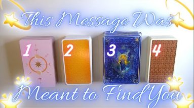 A MESSAGE MEANT TO FIND YOU 📣 🥳 Timeless Pick-a-Card Tarot Reading 💫