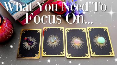What Spirit Wants You To FOCUS On... (PICK A CARD)